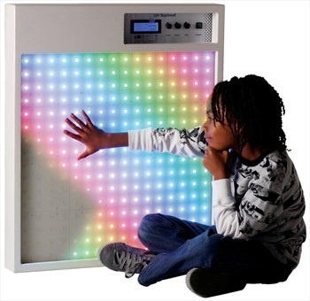 Sabre technology interactive touch wall we were contacted by spacekraft a special needs equipment manufacturer who had a concept for a touch sensitive light wall by placing their hands on a mozeypictures Gallery